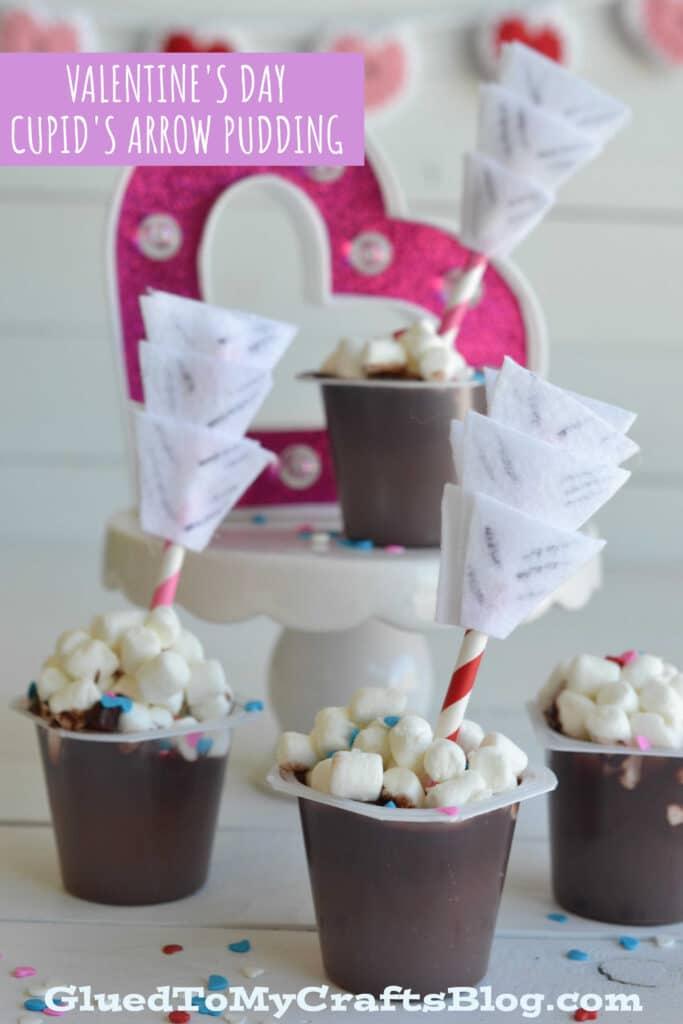 Super UNIQUE Cupcake Liner Cupid's Arrow - Valentine's Day Kid Craft