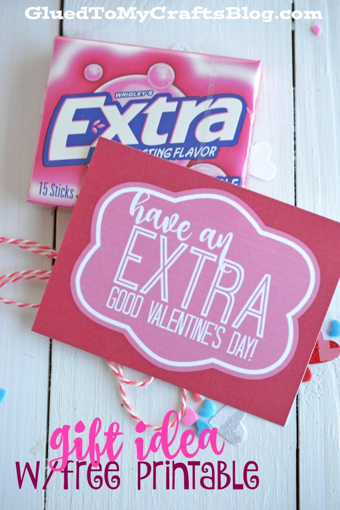 Extra Good Valentine's Day Printable