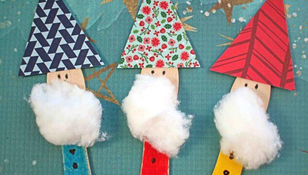 Scoop Stick Garden Gnomes - Kid Craft