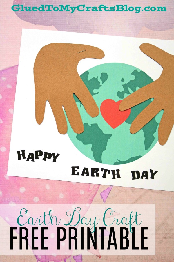 Earth Day Handprint Keepsake w/free printable