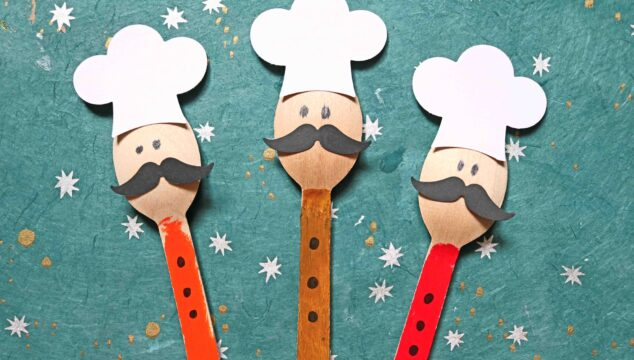 Wooden Spoon Chef Puppets - Kid Craft