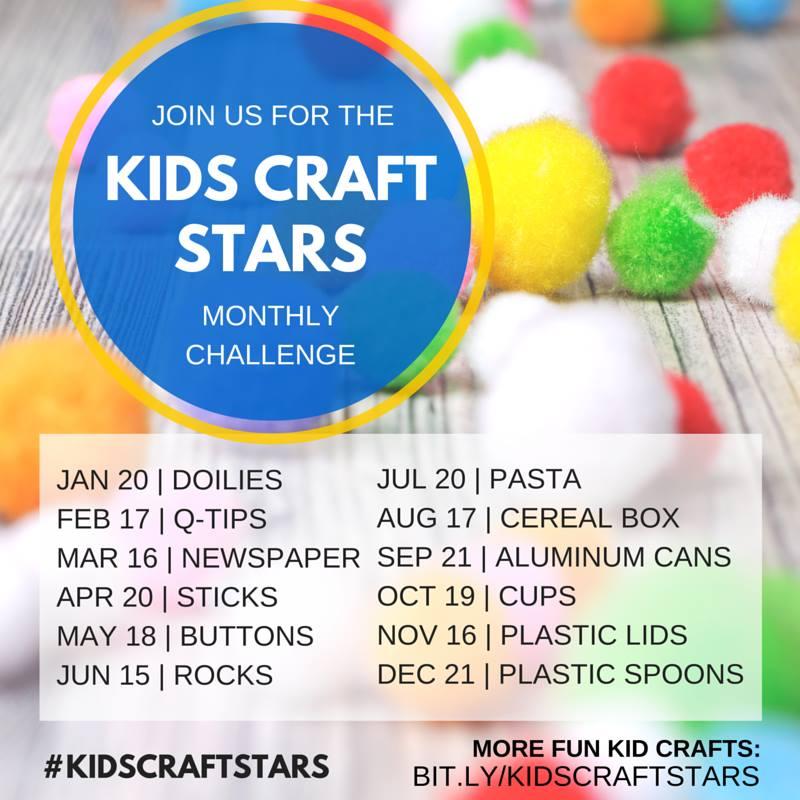 Kid Craft Stars Challenge