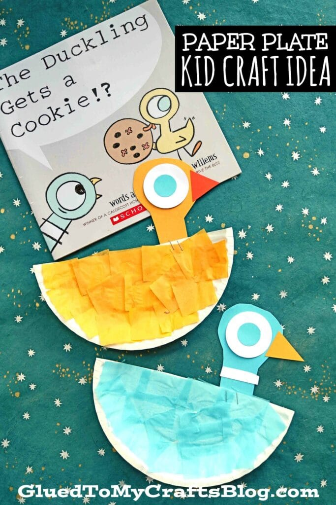 Paper Plate Pigeon & Duckling - Kid Craft