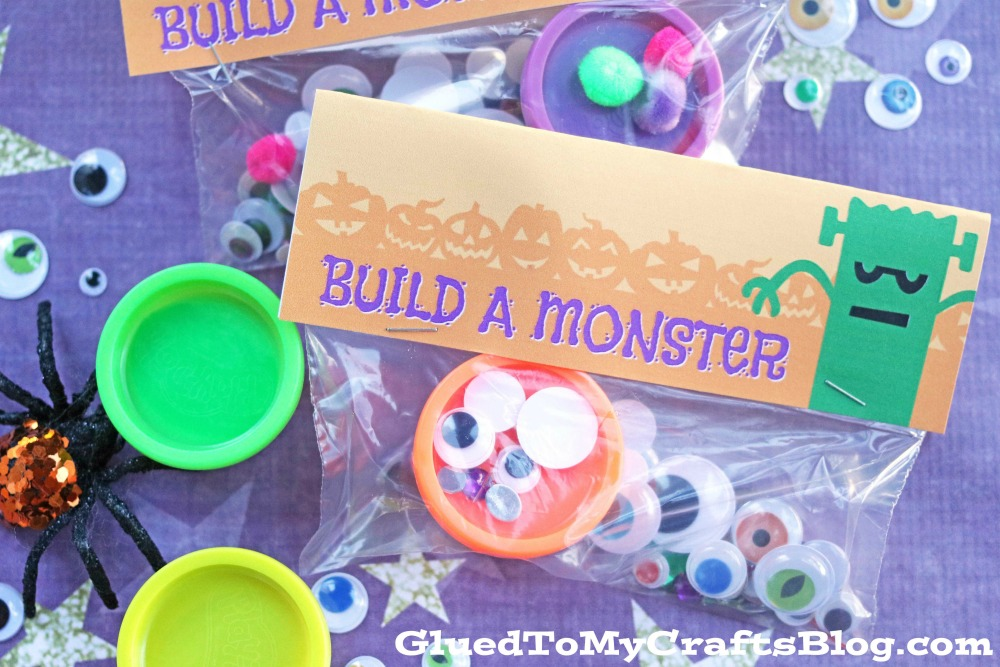 Build A Monster - Free Printable