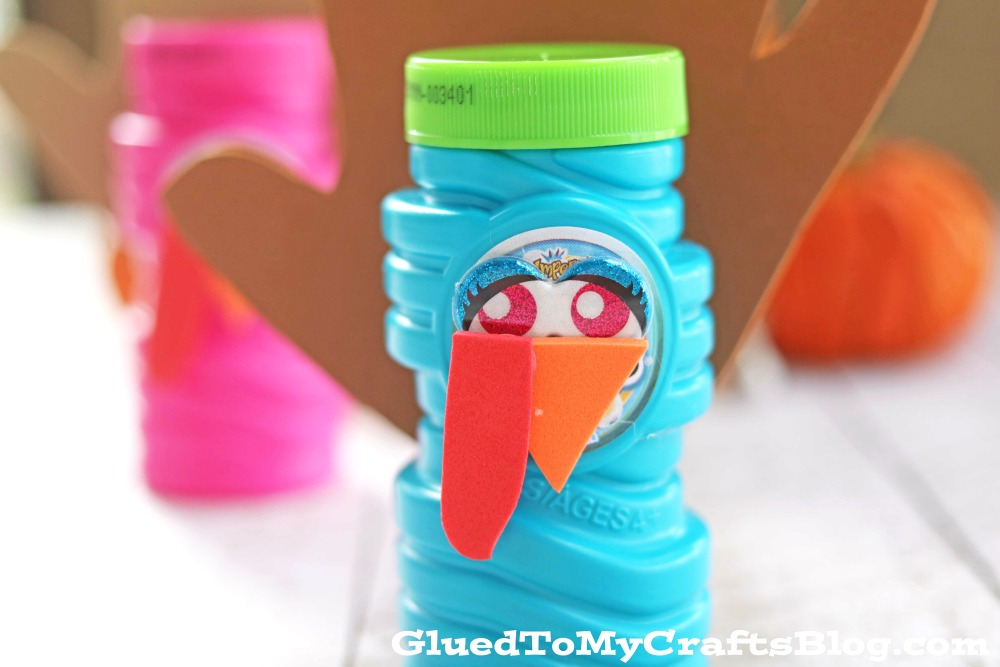 Turkey Bubbles - Party Favor Idea