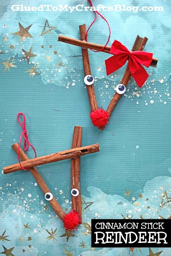 Cinnamon Stick Reindeer - Kid Craft