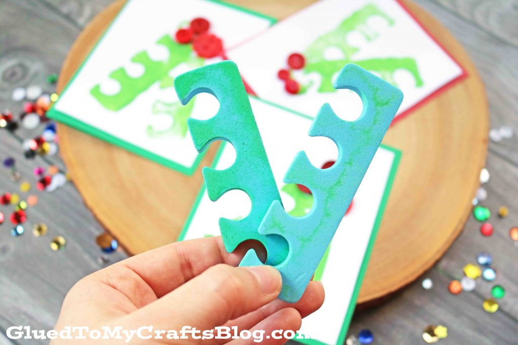 Mistletoe Cards - Kid Craft
