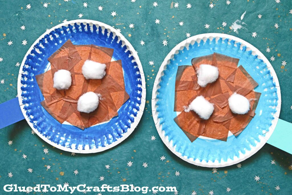 Paper Plate Hot Cocoa Mug - Kid Craft