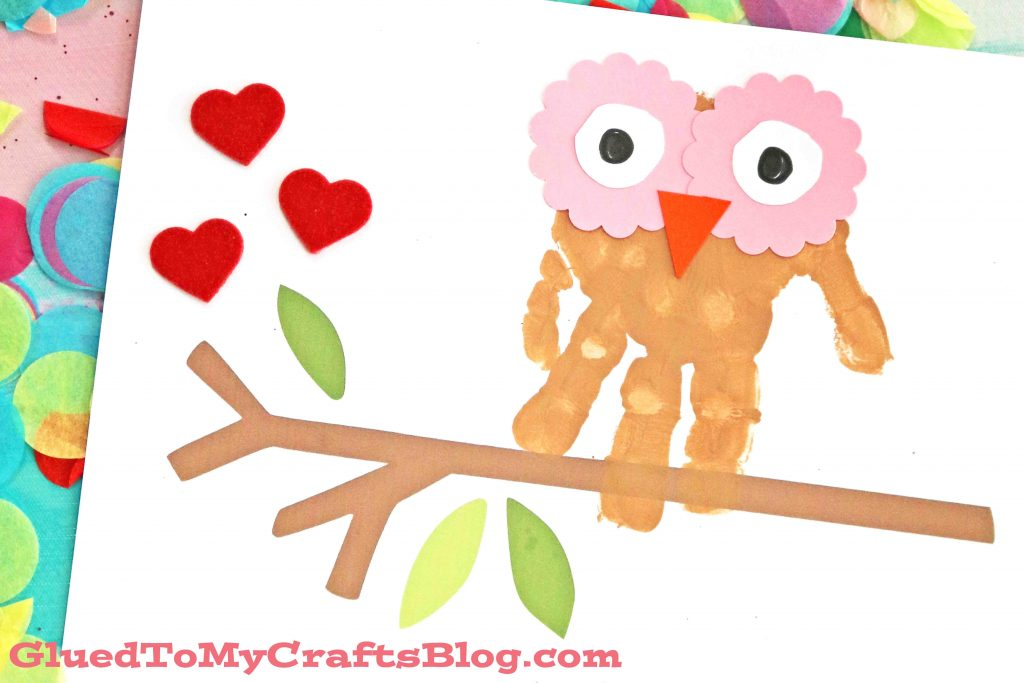 Owl Always Love You - Handprint Keepsake Printable
