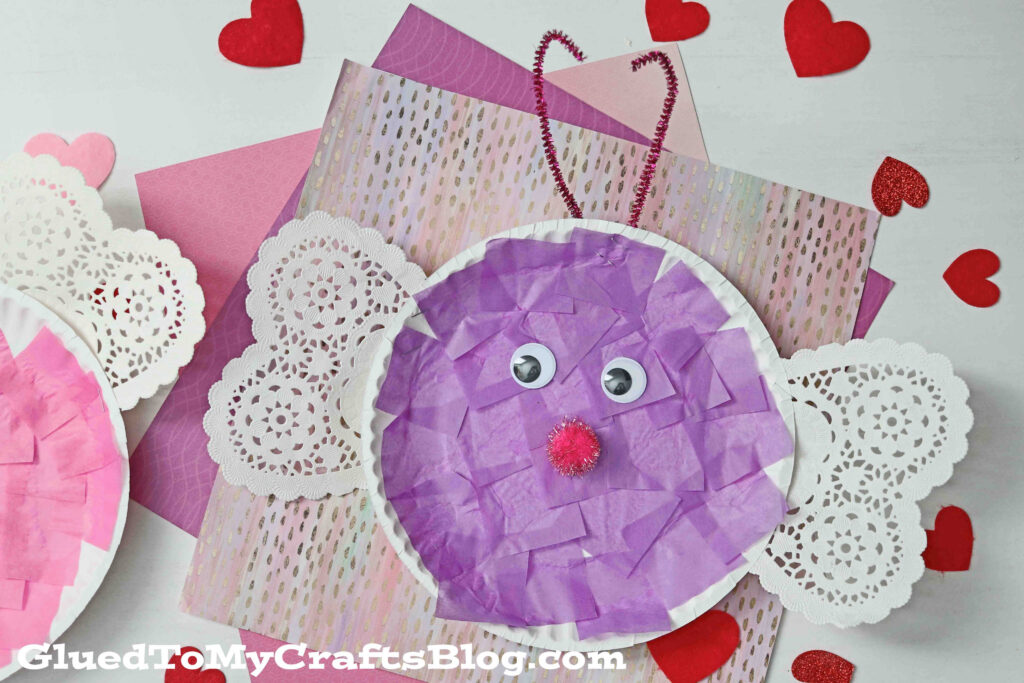 Celebrate BIG With This Paper Plate Valentine Love Bug Craft For Kids