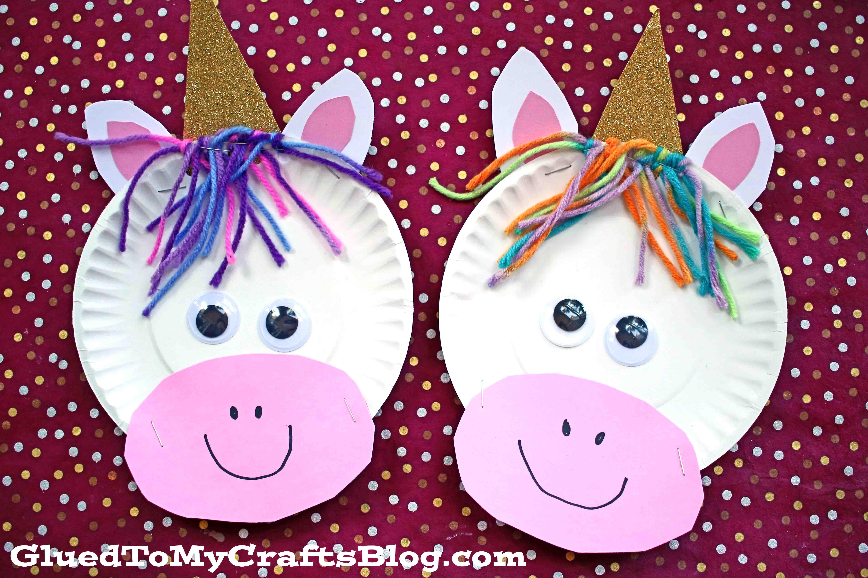 DIY Heart Unicorn Paper Craft - Artsy Craftsy Mom | 4000x6000