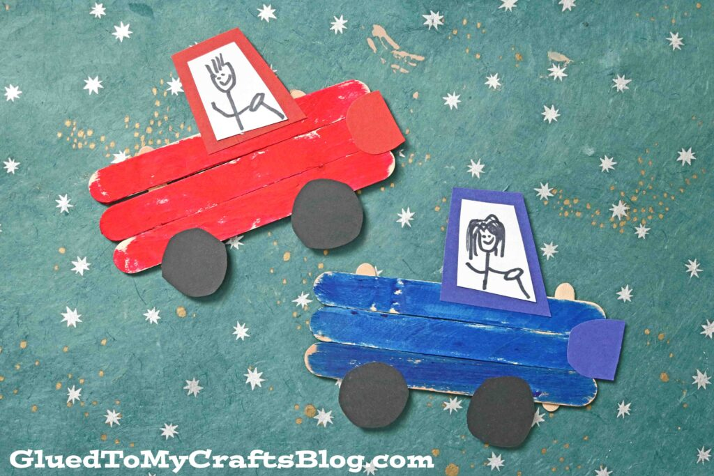 Popsicle Stick Truck - Kid Craft Idea For Story Time