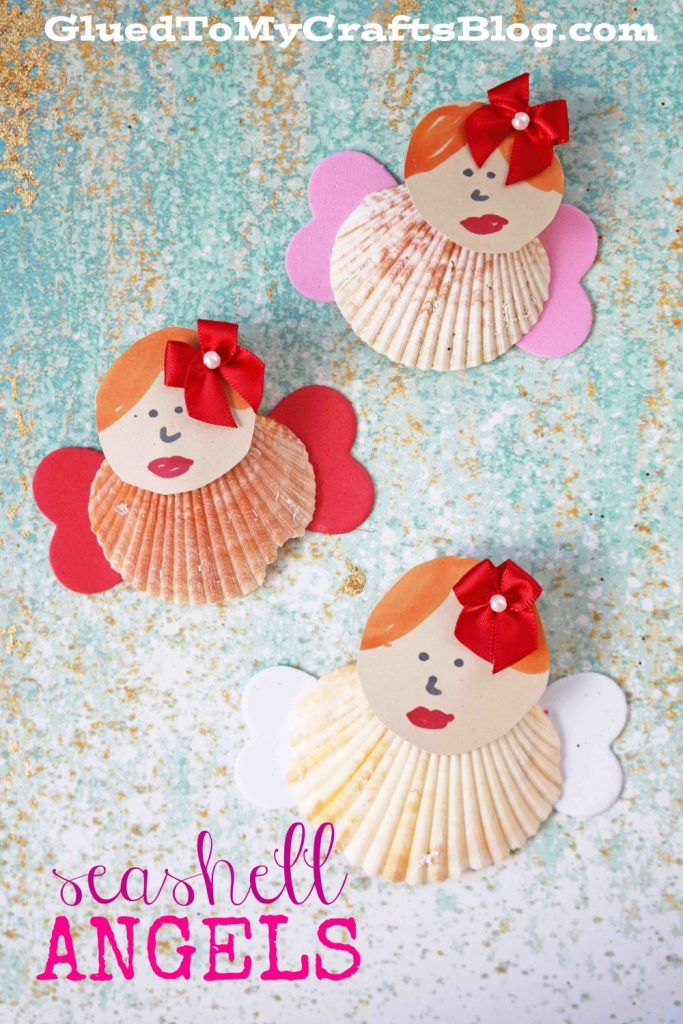 Seashell Valentine Angels - Kid Craft