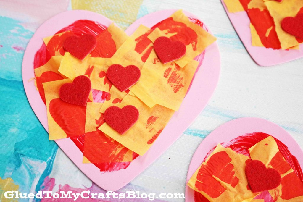Craft Foam Valentine Pizza - Kid Craft