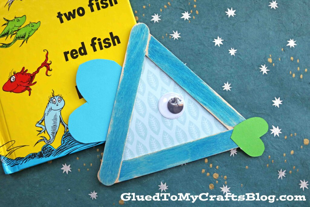 Popsicle Stick One Fish, Two Fish - Kid Craft Idea