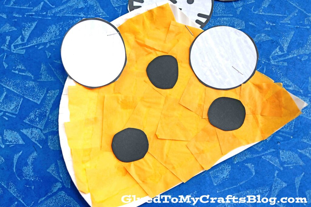 SUPER EASY Paper Plate Cheese and Mouse - Kid Craft Idea