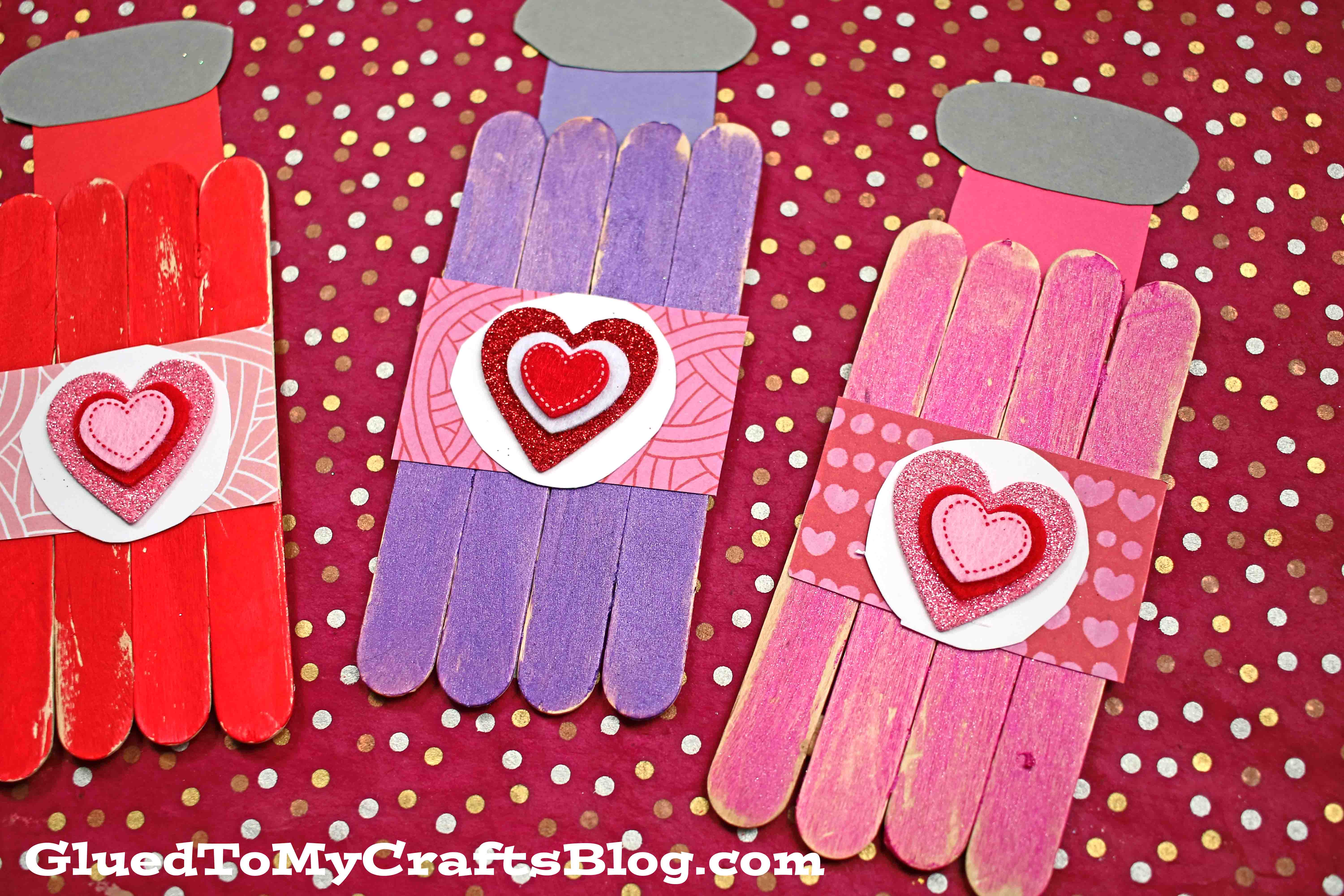 Popsicle Stick Valentine Love Potion - Kid Craft