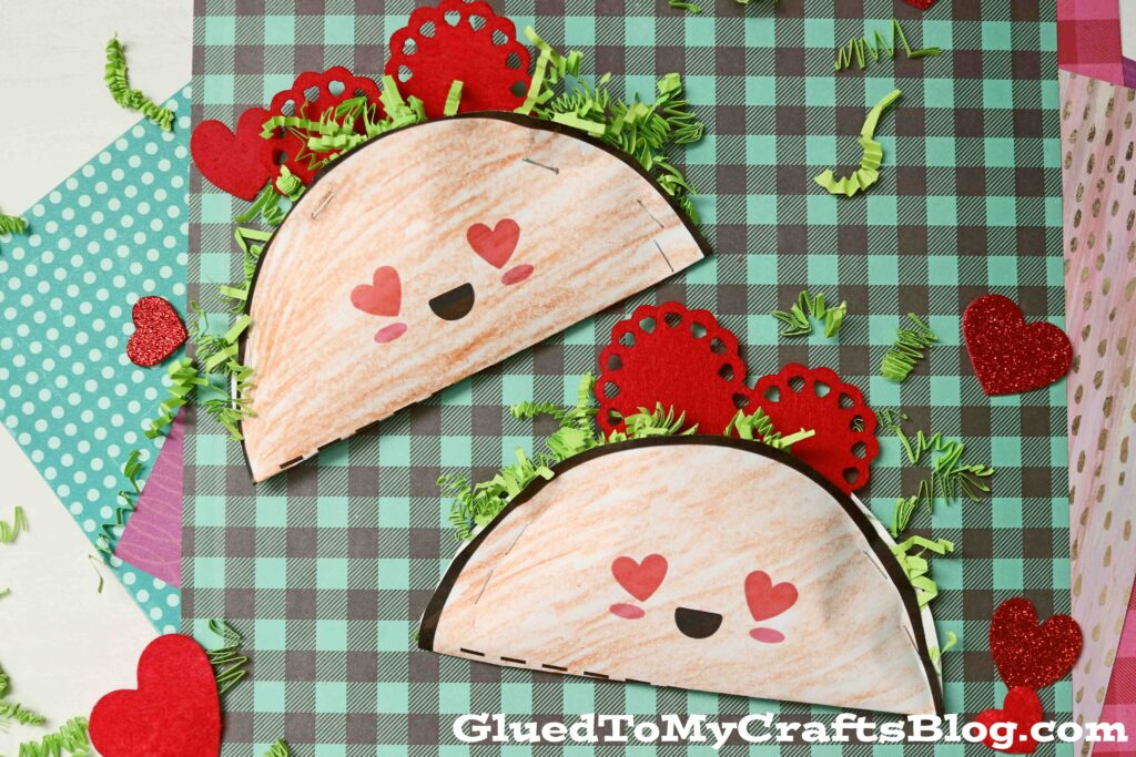 Kid Approved – Paper Love Tacos For Valentine's Day Celebrating