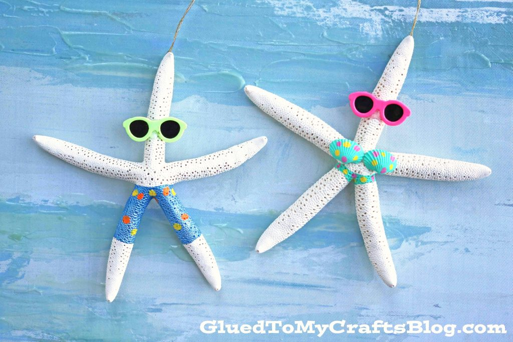Beach Themed Starfish Ornament