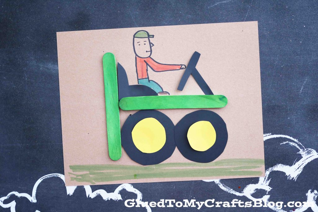 t-is-for-tractor-kid-craft-3-1024x683 T Letter Craft Tractor Template on preschool horse, for preschoolers, free printable alphabet,