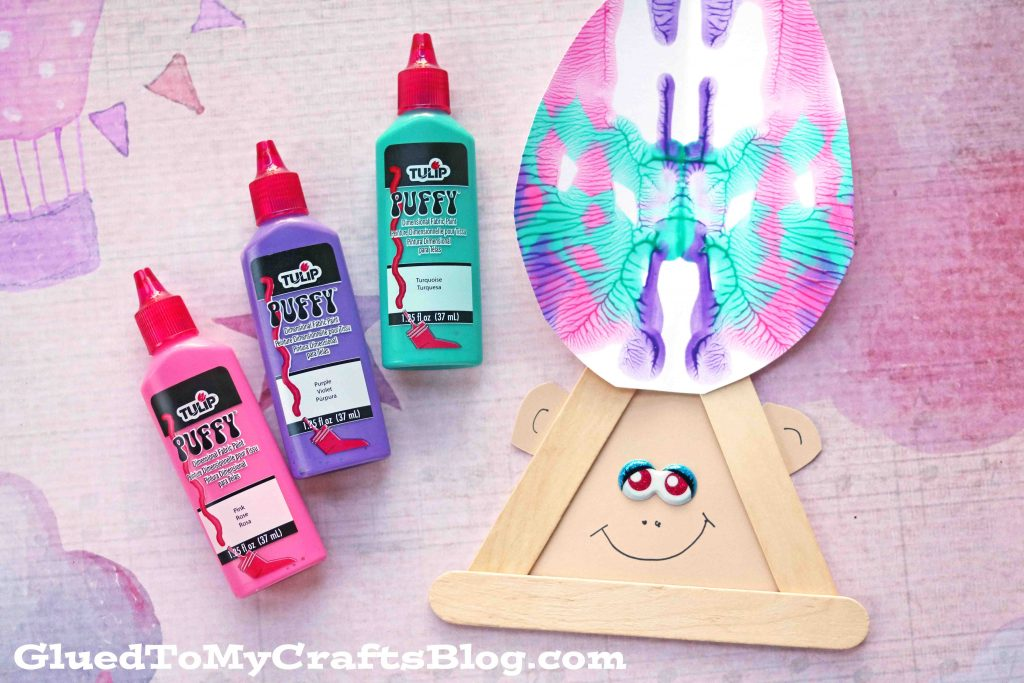 Paint Splat Troll Hair - Kid Craft