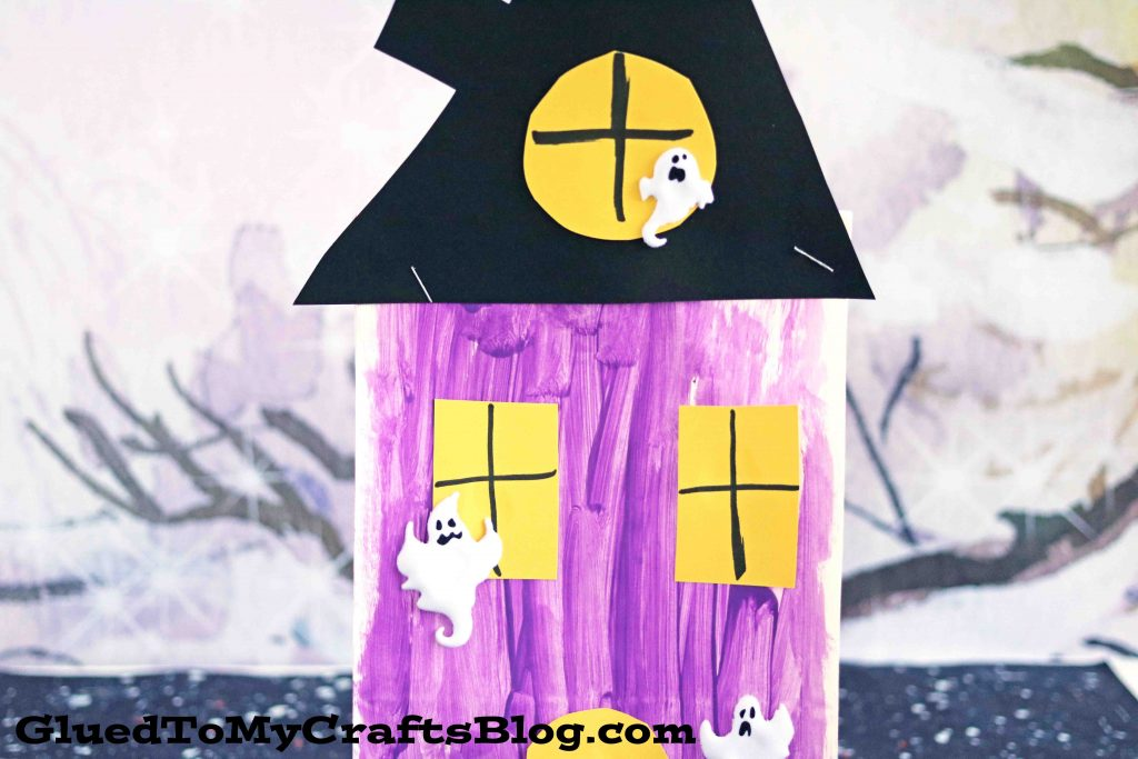 Paper Bag Haunted House - Kid Craft