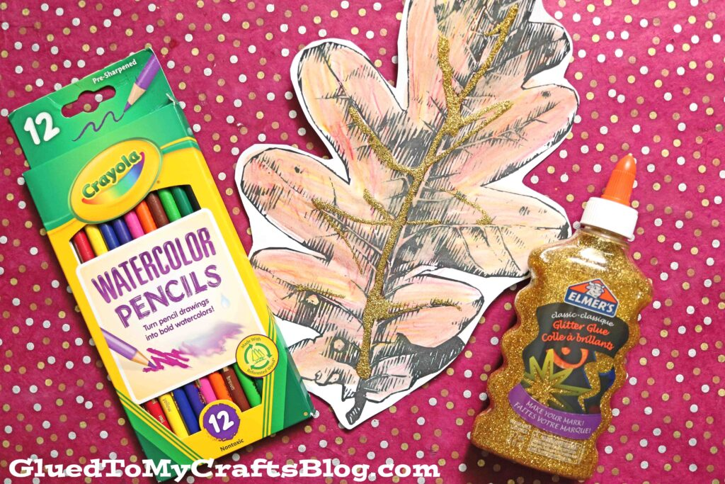 Beautiful Watercolor Fall Leaves For Kids To Paint Today!