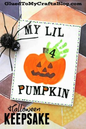 FIVE Uncomplicated Halloween Keepsakes For Kids To Make