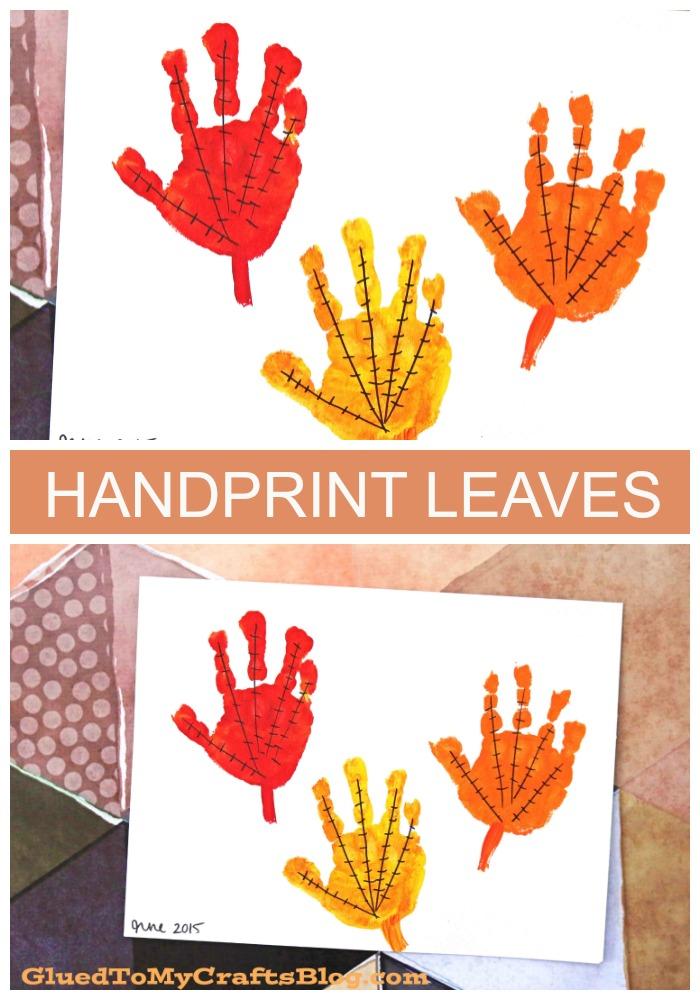 The Simplest Handprint Leaves Keepsake