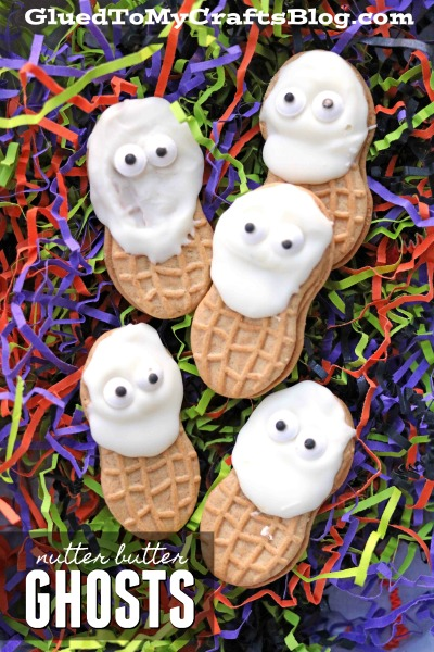 Nutter Butter Ghost Friends Cookies