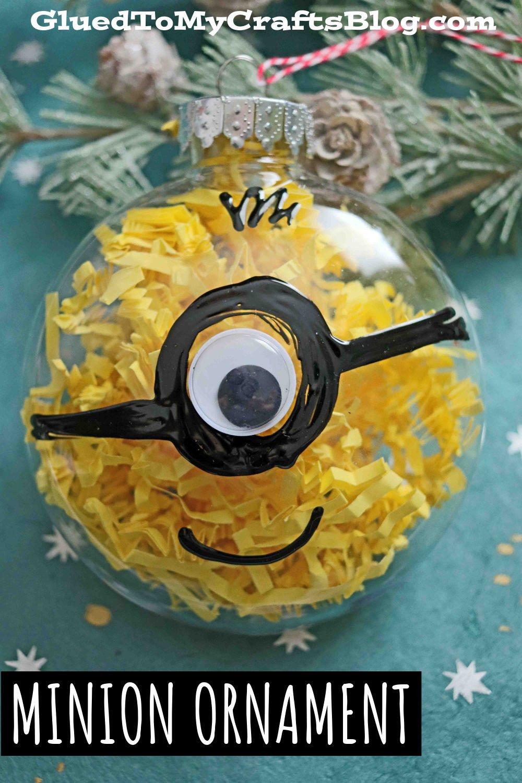 Plastic Ornament Minion