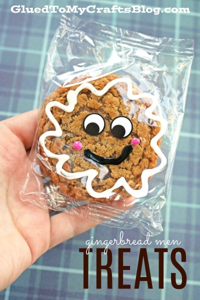 Oatmeal Creme Pie Gingerbread Man Treats