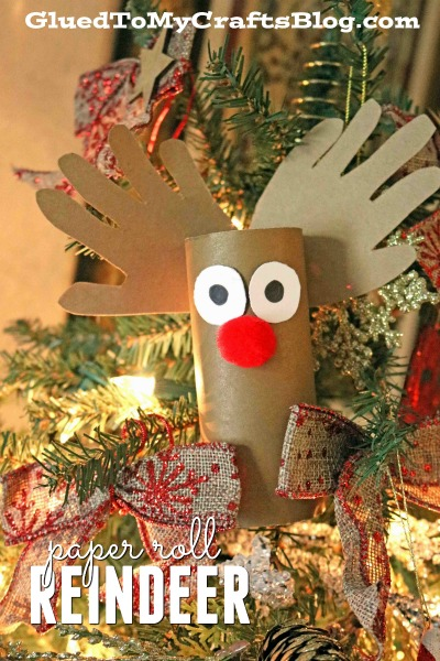 Toilet Paper Roll Reindeer - Christmas Kid Craft