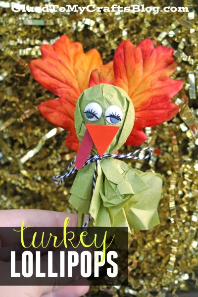 DIY Turkey Lollipops - Craft