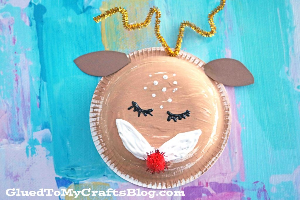 Paper Bowl Deer - Kid Craft Idea