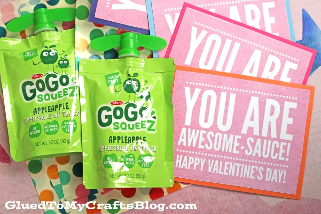 AWESOME-SAUCE Valentine's Day Gift Tag Printable