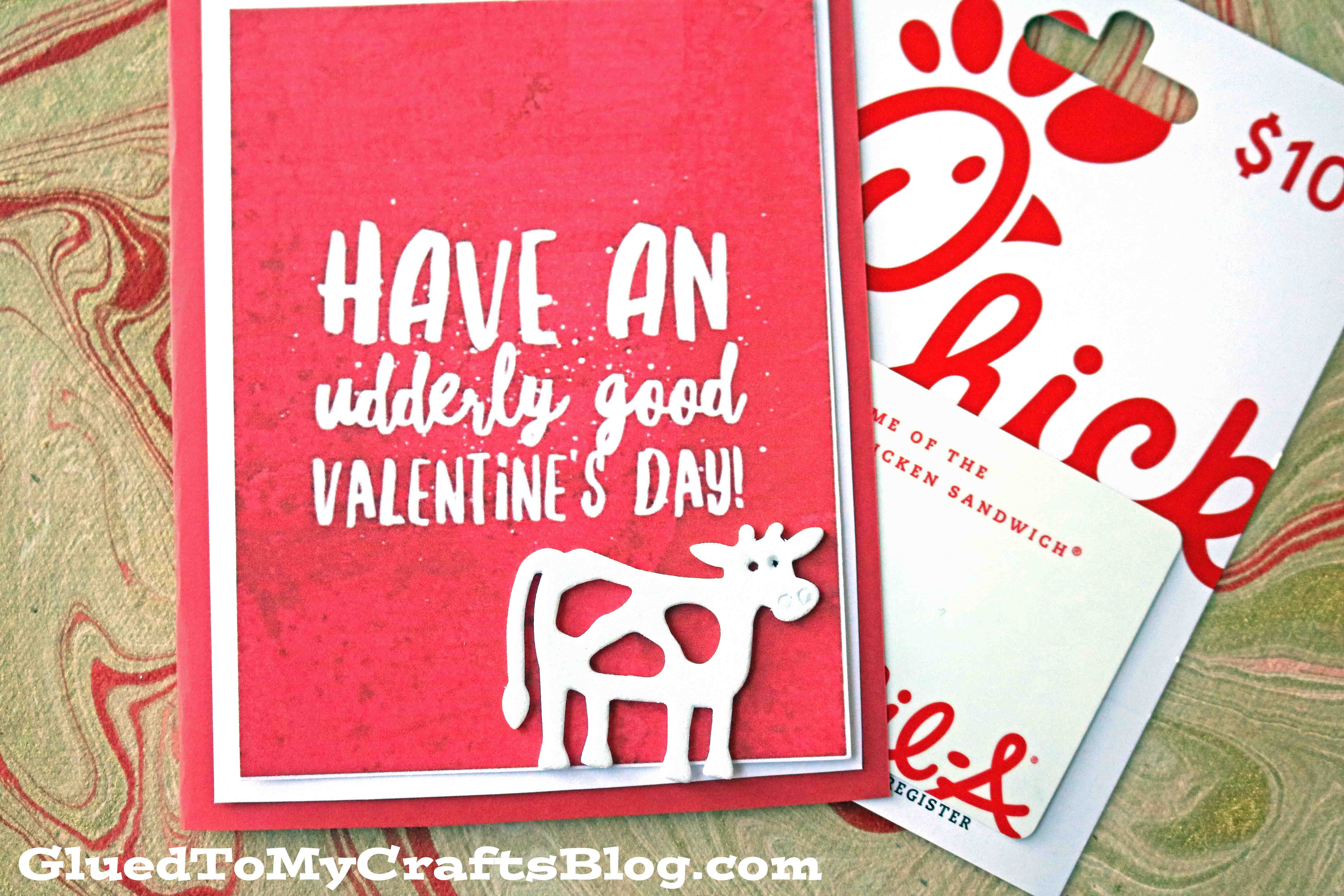 Udderly Good Valentines Day Chick Fil A Gift Idea
