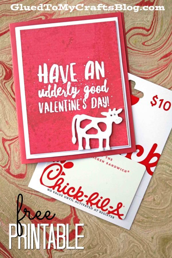 Udderly Good Valentine's Day - Chick-Fila Gift Idea