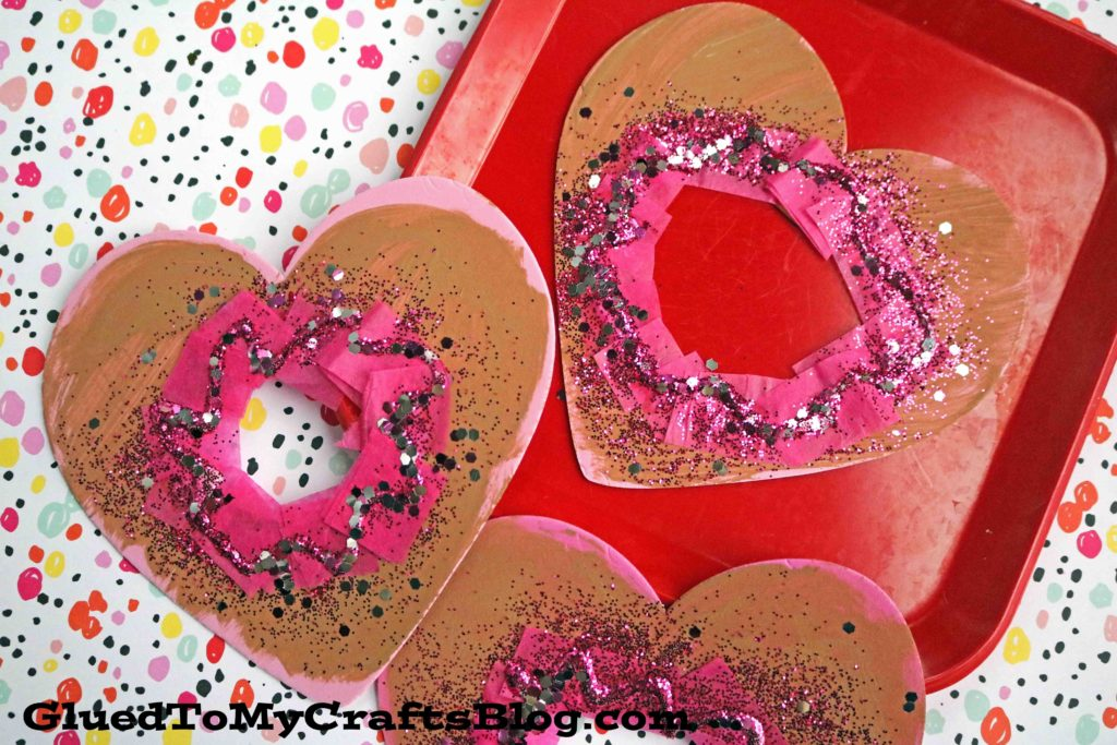 Craft Foam Valentine Heart Donuts - Kid Craft