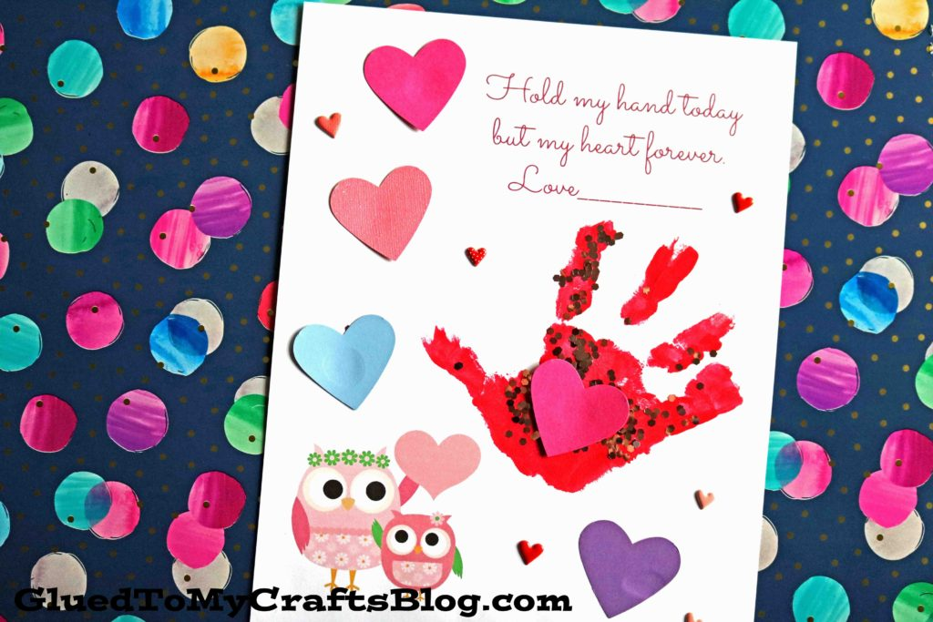 Keepsake Printable - Hold My Hand Today But My Heart Forever