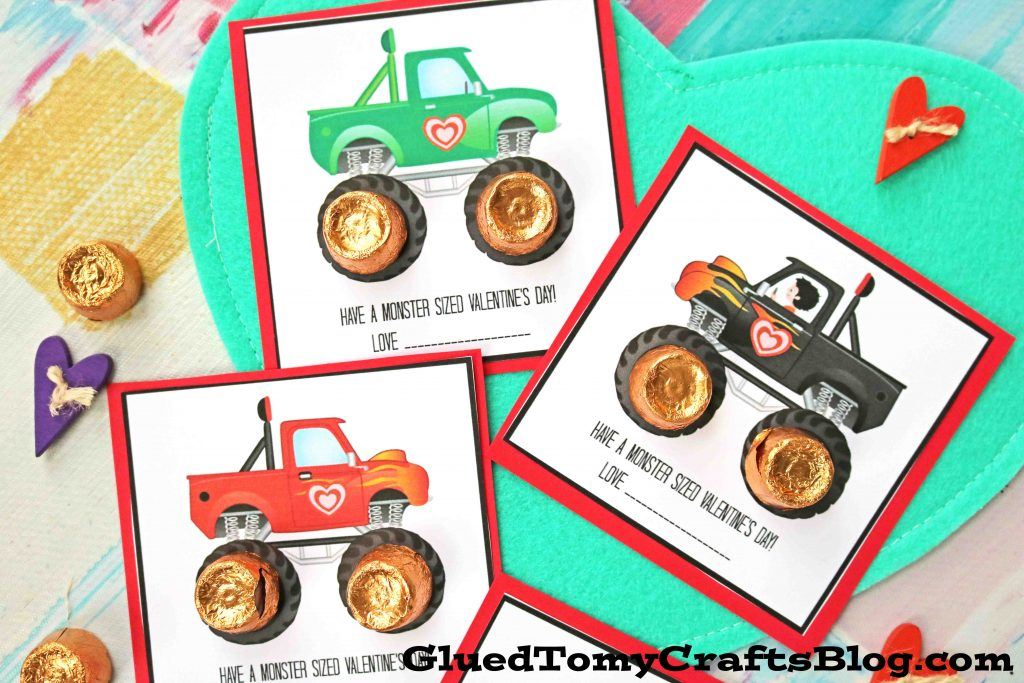 Have A Monster Sized Valentine's Day - Free Printable