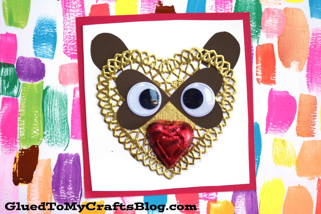 Raccoon Valentine Card