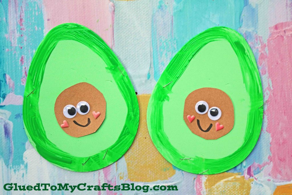 Craft Foam Egg Avocado Friends - Kid Craft