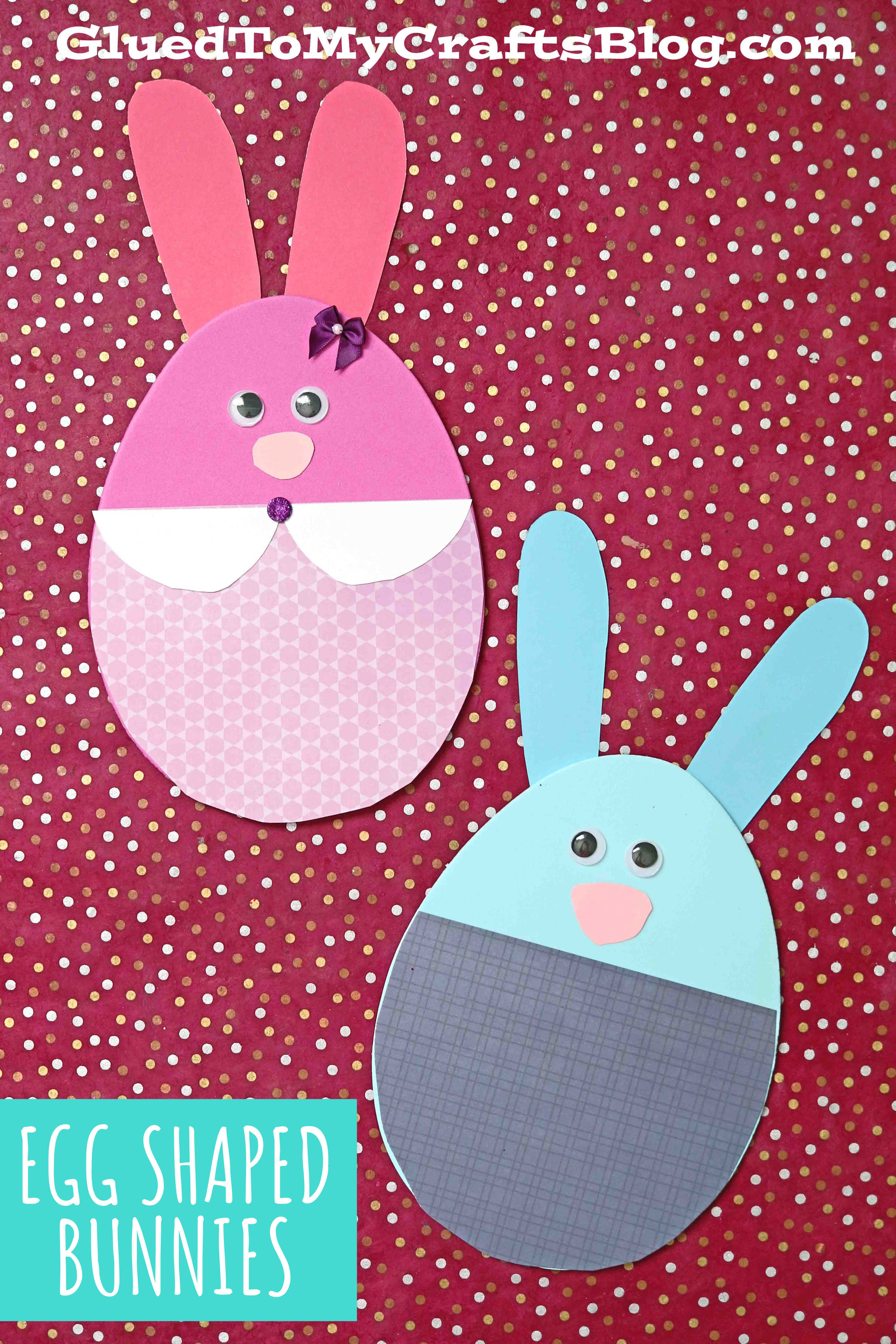 Craft Foam Egg Easter Friends - Kid Craft Idea For Spring