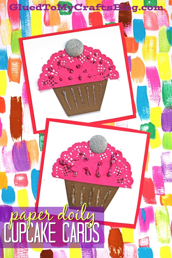 Paper Doily Cupcake Cards
