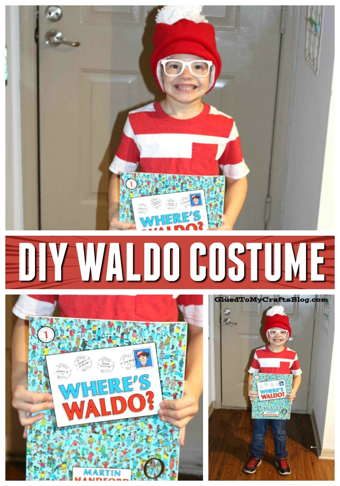 Simplest Where's Waldo Costume Idea For Literacy Week