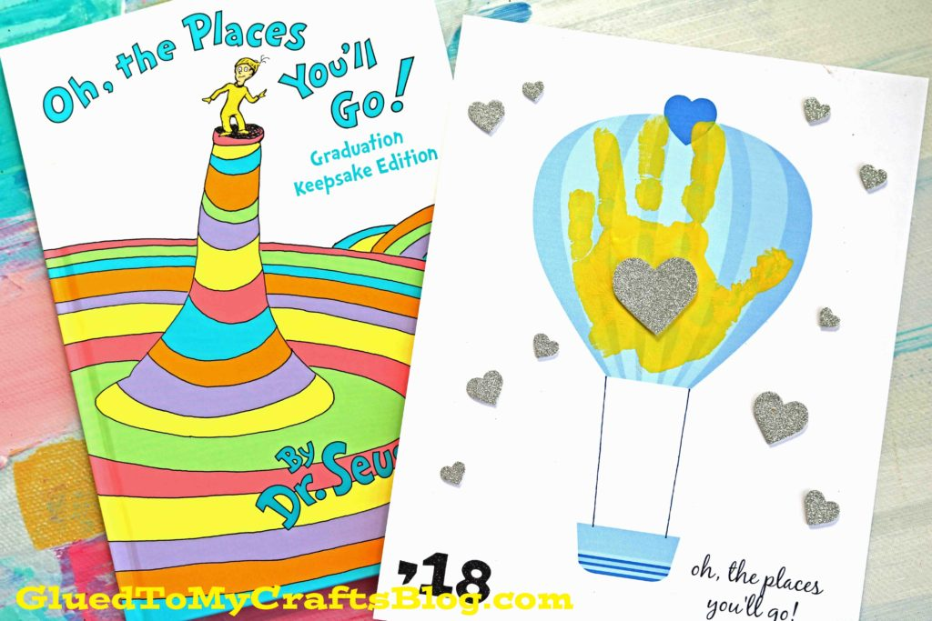 Oh, The Places You'll Go - Handprint Keepsake Printable