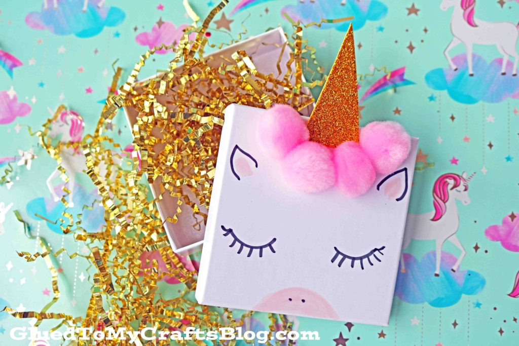 DIY Unicorn Jewelry Gift Boxes For Valentine's Day