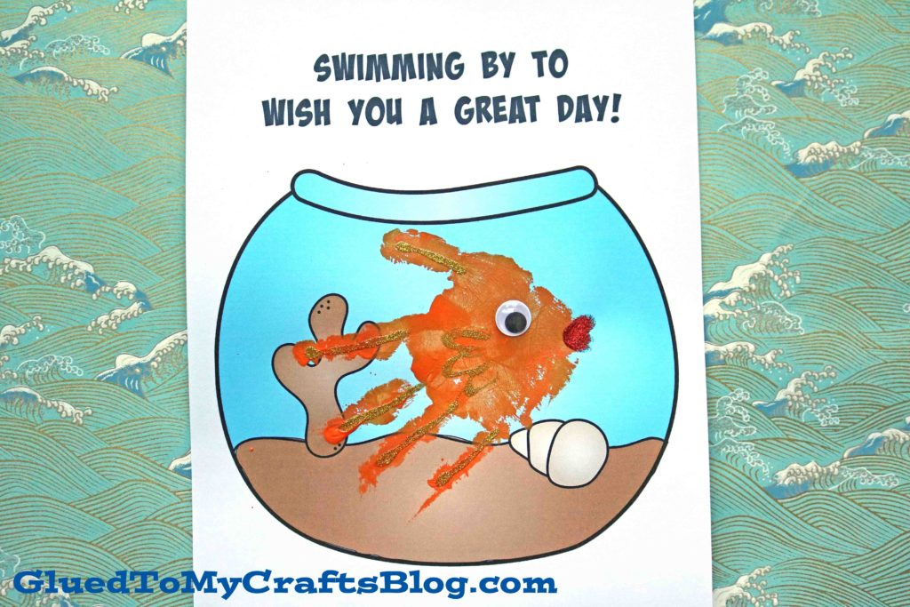Swimming By - Fishbowl Keepsake Idea