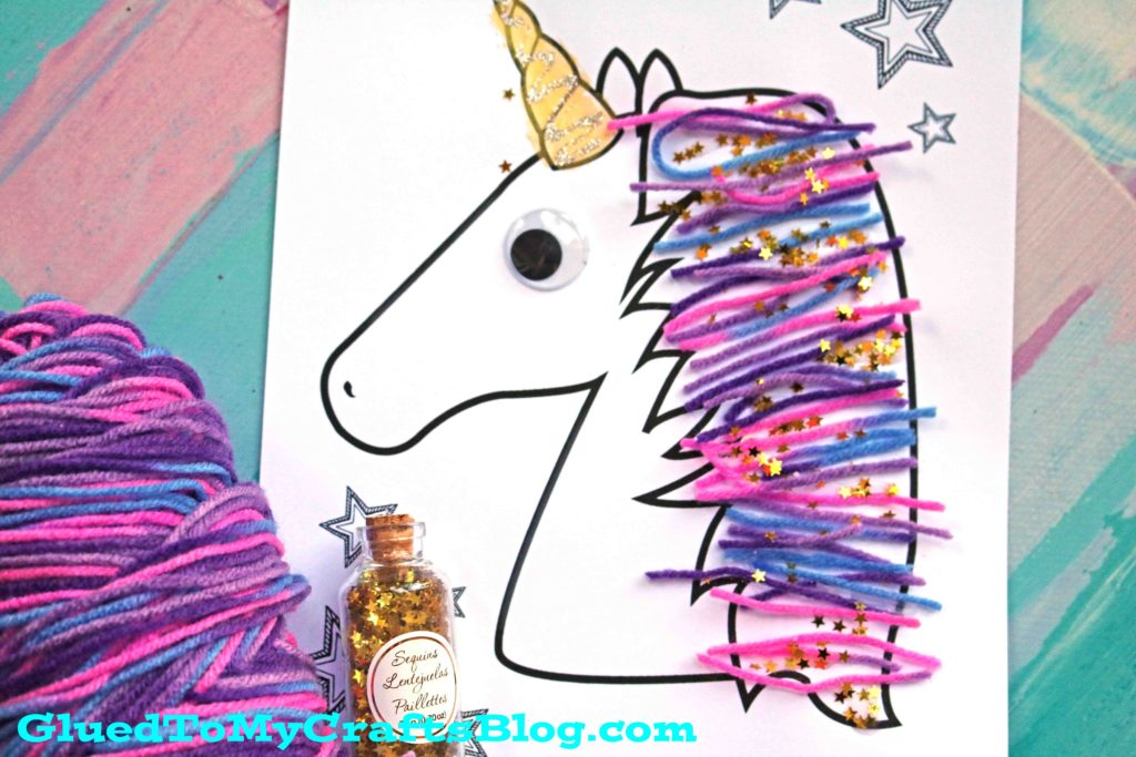 paper unicorn craft idea for kids